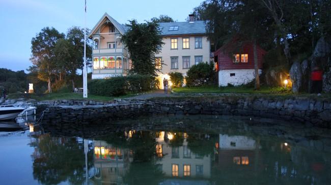 Hovudhuset i Skjerjehamn. Foto: Torje Bjellaas, NRK.