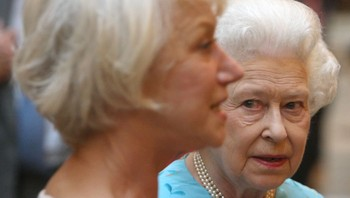 Helen Mirren og Queen Elisabeth II