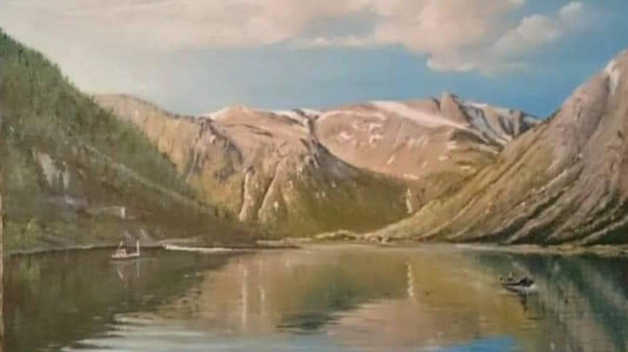 Else Pettersen maleri fra Sørskjomen