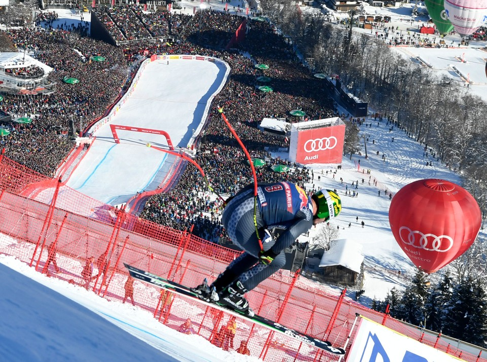 Nå · V-cup alpint: Utfor, menn