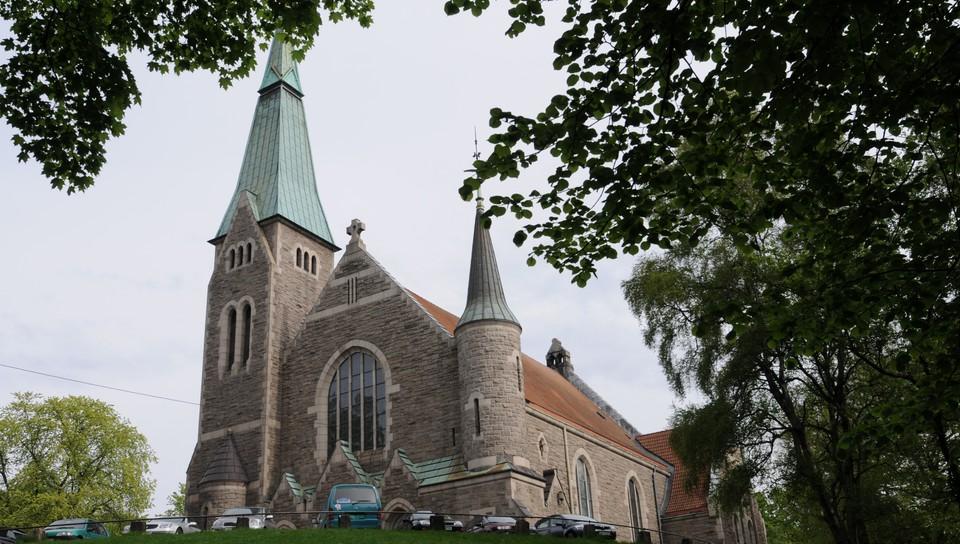 Gudstjeneste fra Fagerborg kirke, Oslo