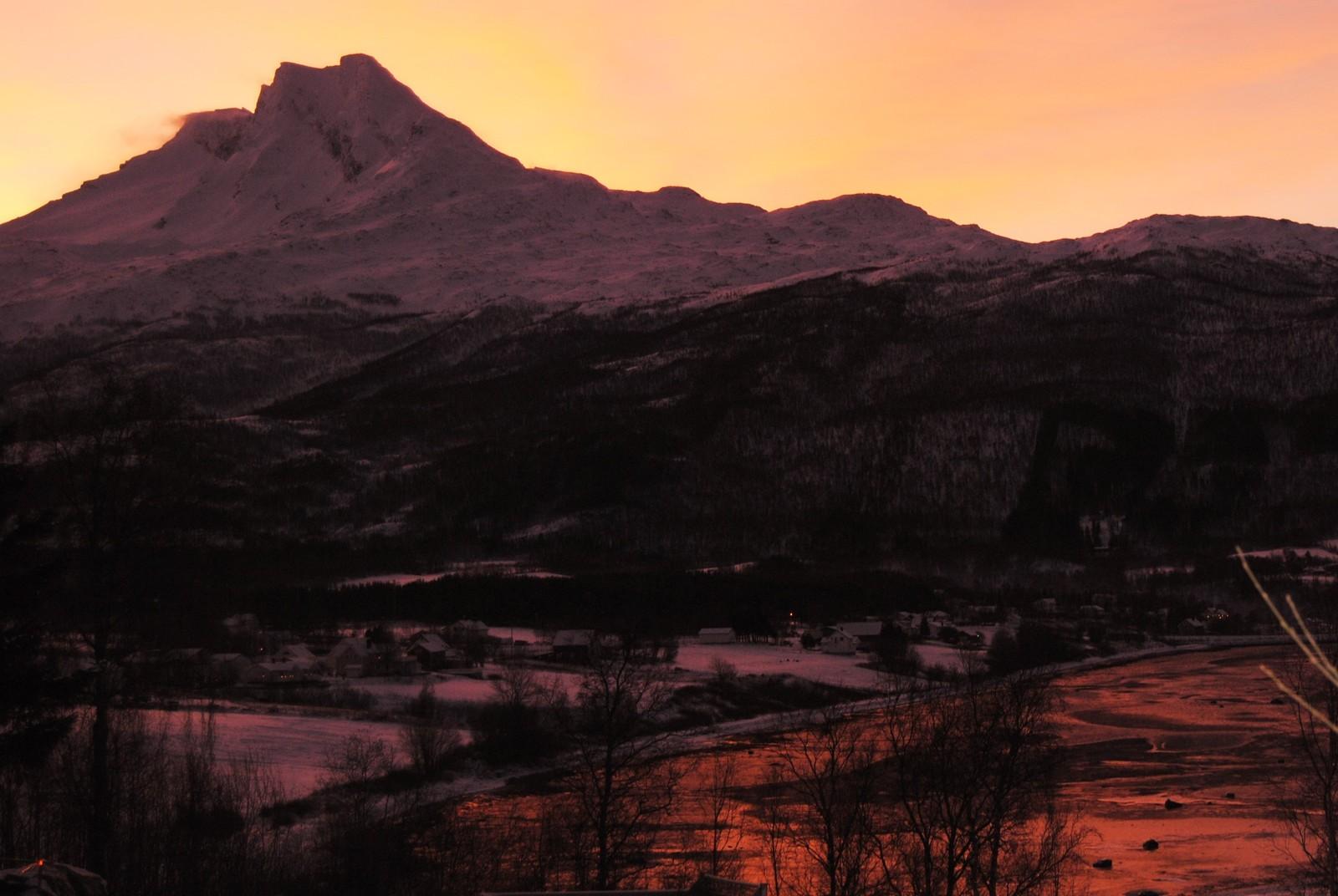 Fra Håkvik i Narvik kommune.
