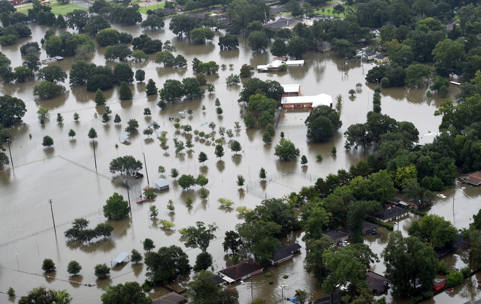 STORFLOM: Oversvømmelser Baton Rouge.