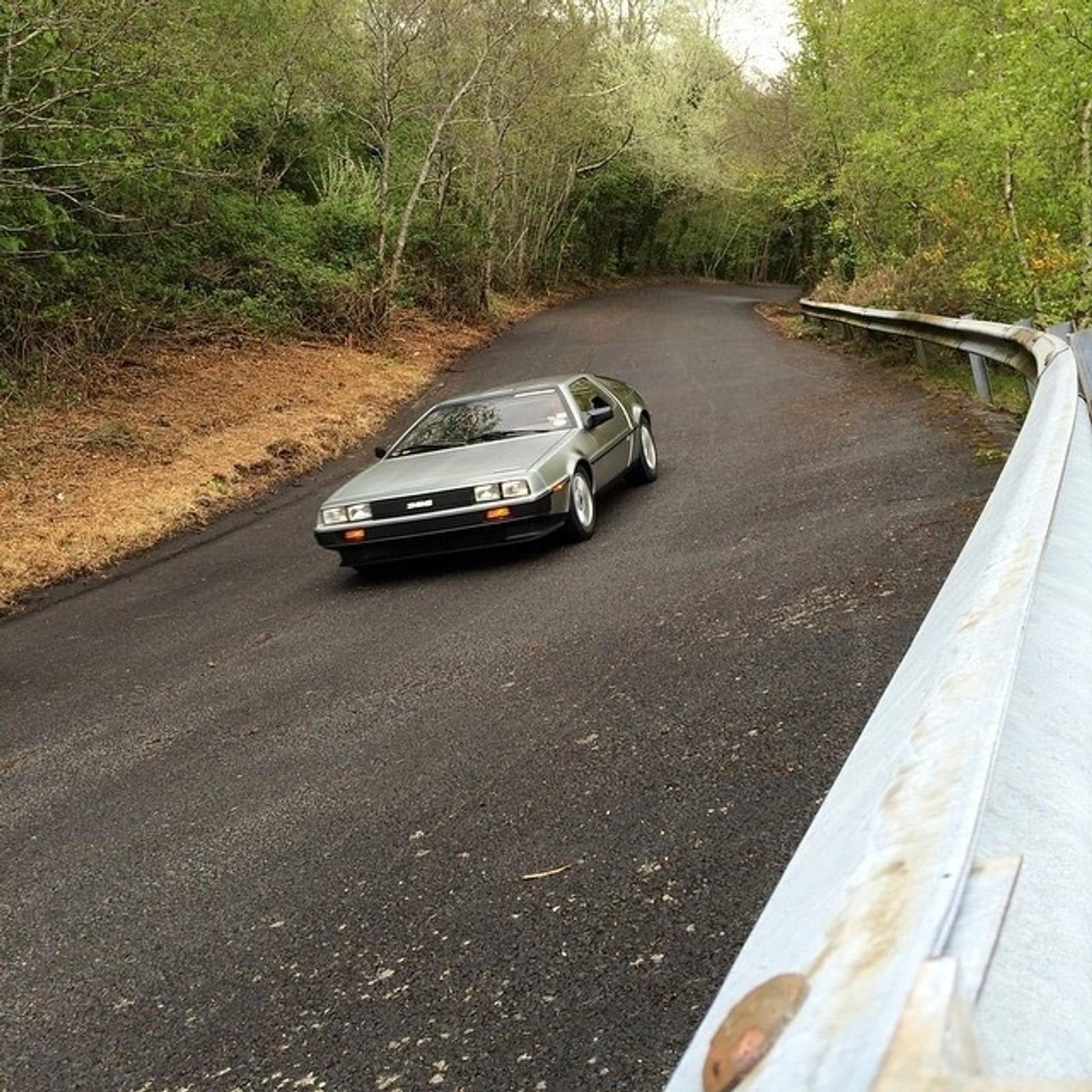 Stian Birkeland kjøpte DeLorean allerede i 1999.