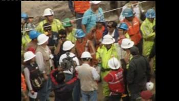 Video Peruanske gruvearbeidere reddet