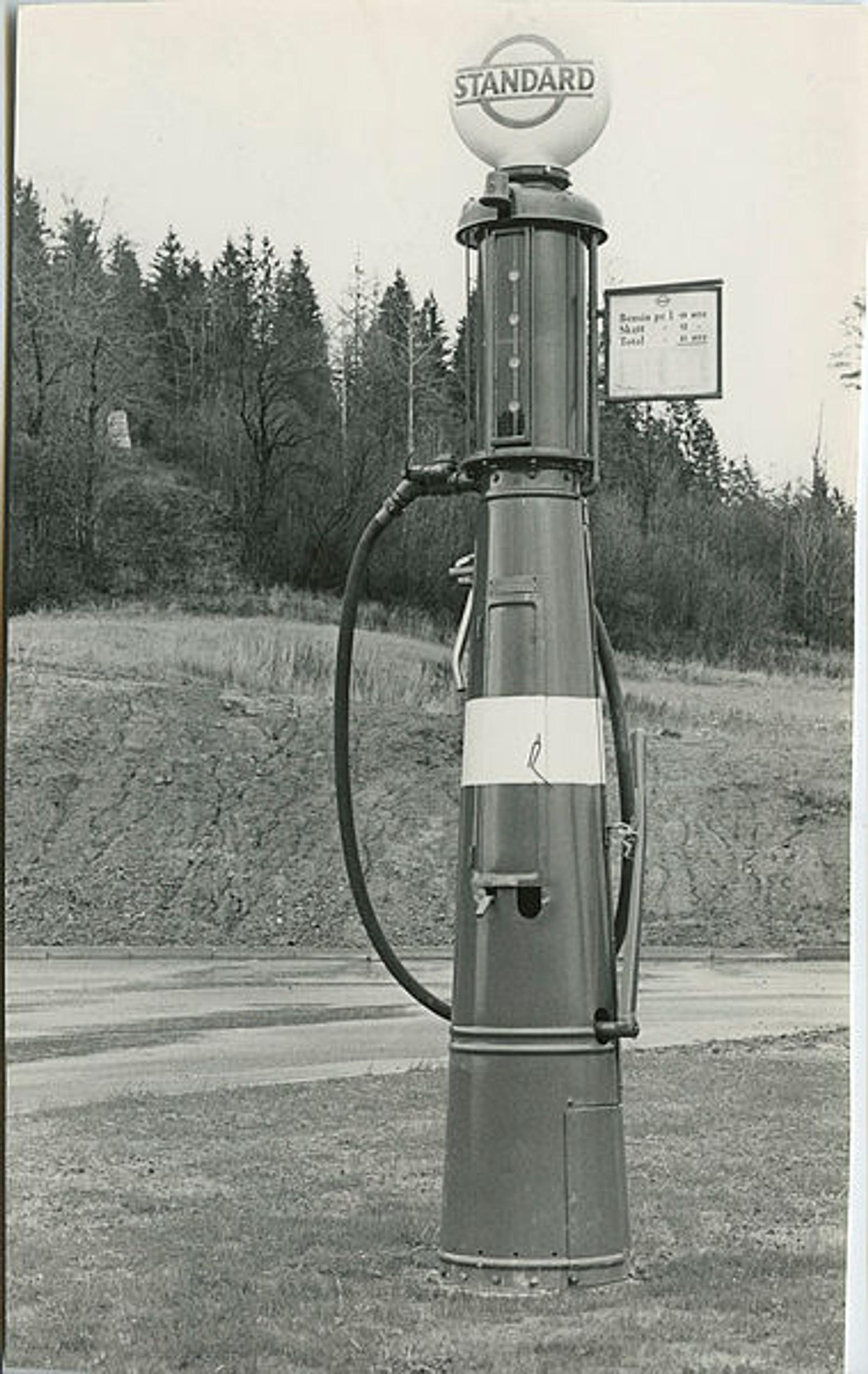 Det er foreløpig uvisst hvor denne pumpen befant seg.