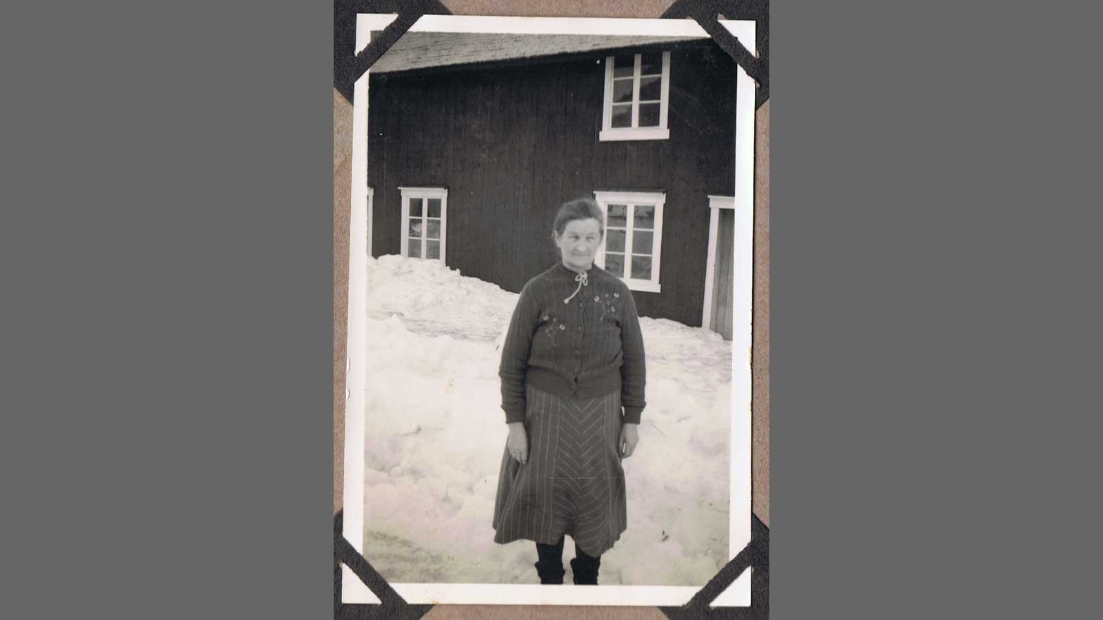 Passfoto av Anna Kongsmo