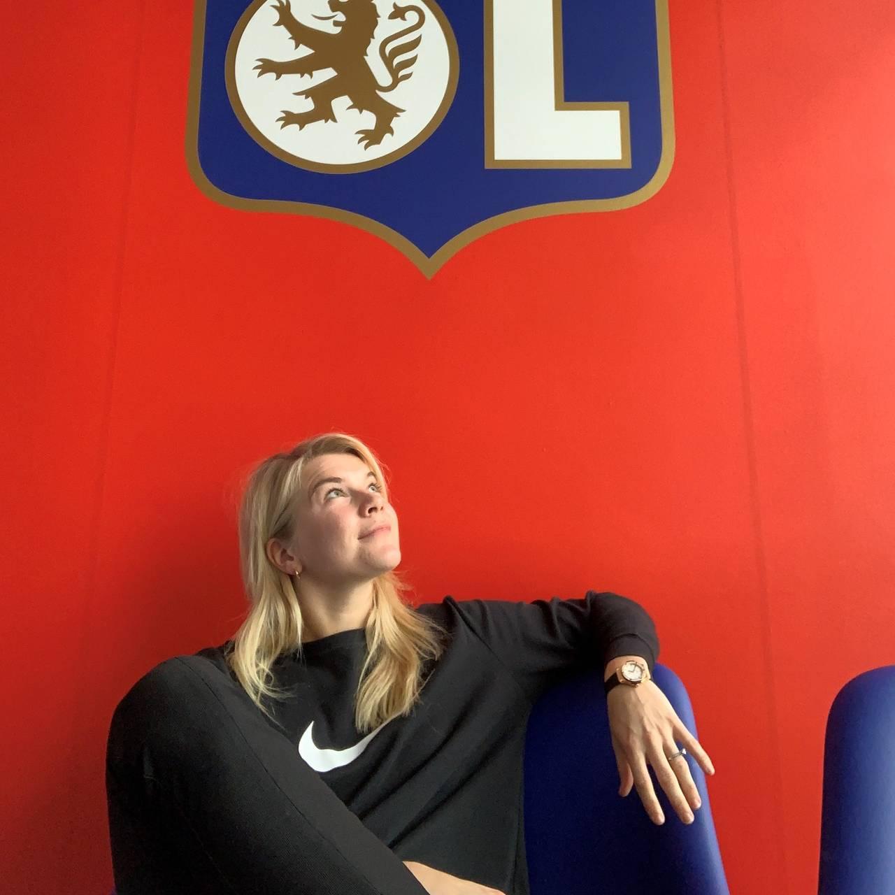 Bilde av Hegerberg får støtte av idrettspresidenten: - Dette er for dårlig
