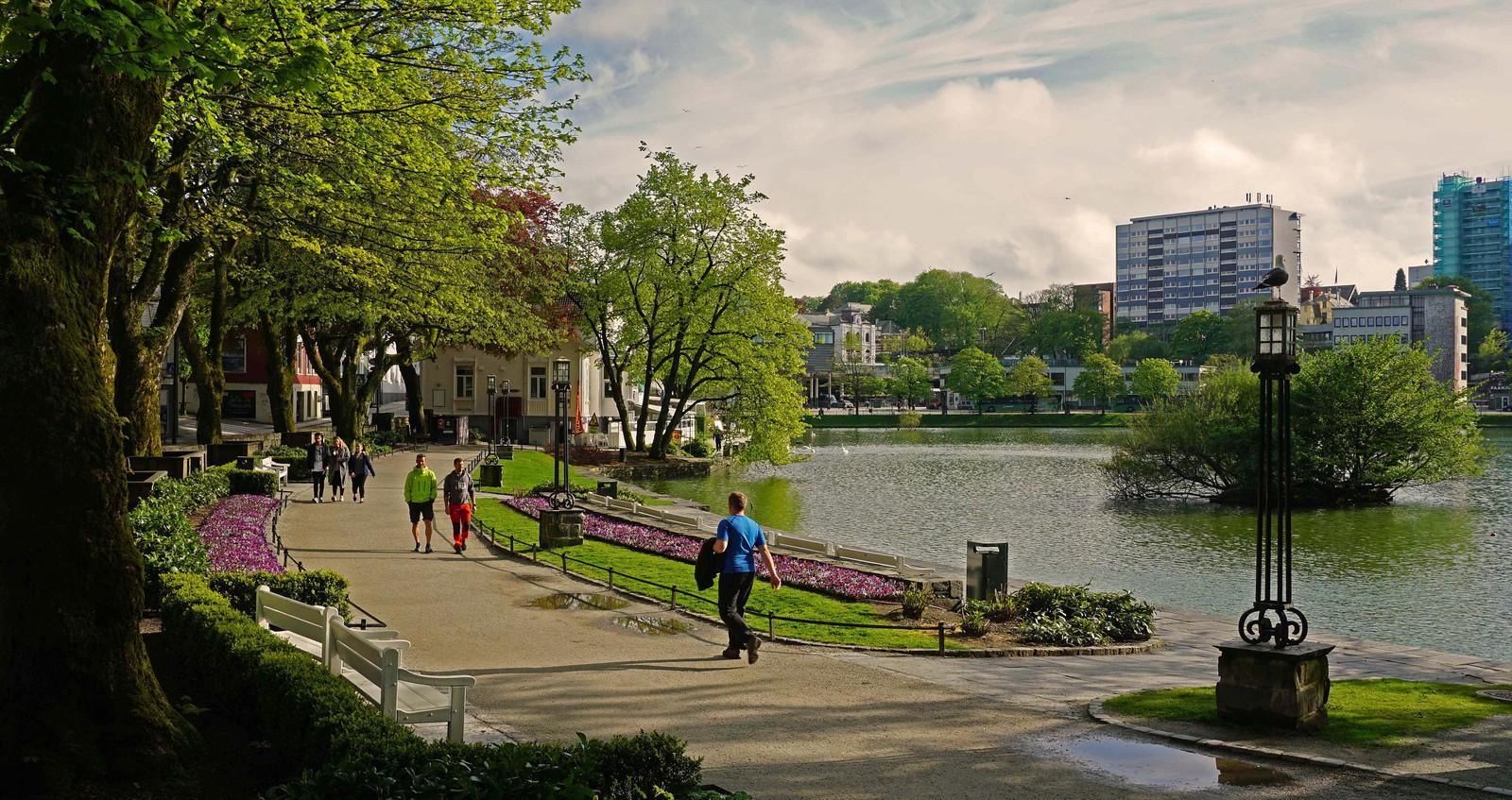 Byparken i Stavanger.