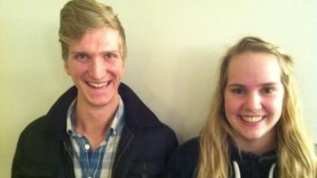 Daniel Haavardsen-Bråttvik og Janne Katrin Sævik
