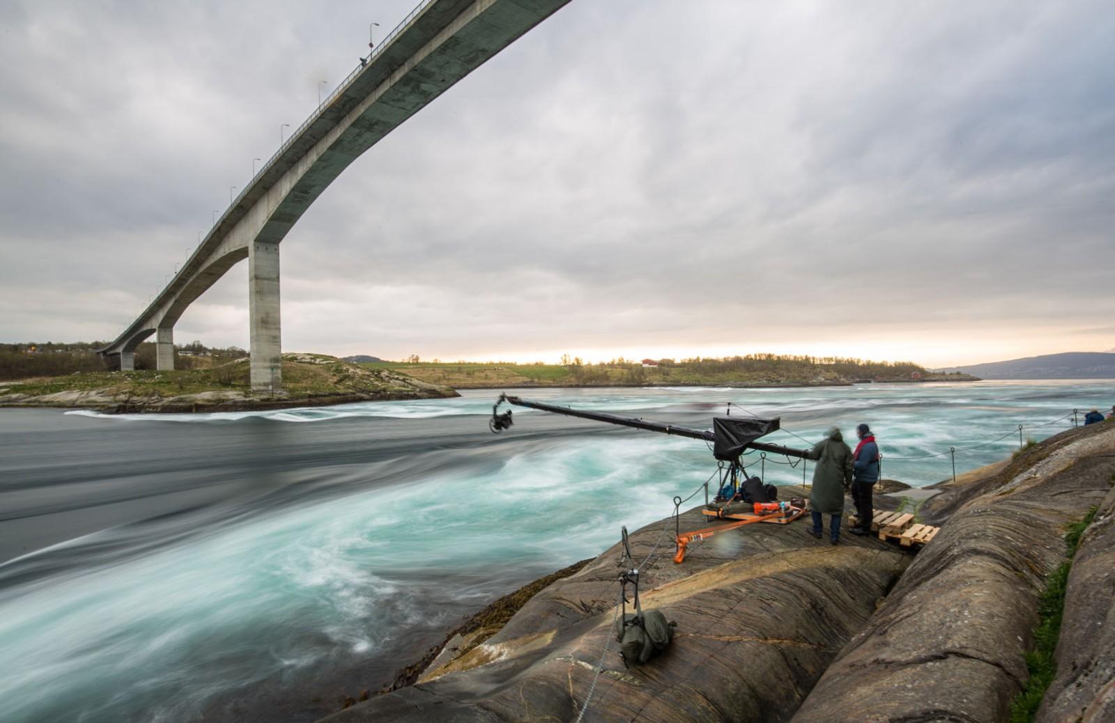 Saltstraumen var en del av NRKs minutt for minutt satsing. Bak de spesialbygde kameraene og avanserte kameravinkler lå over et år med planlegging, testing og utvikling.