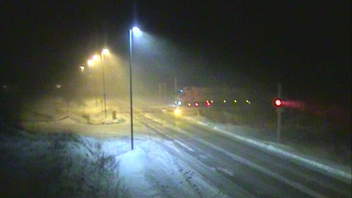 Sørelva nord for Saltfjellet fredag 22.01.21