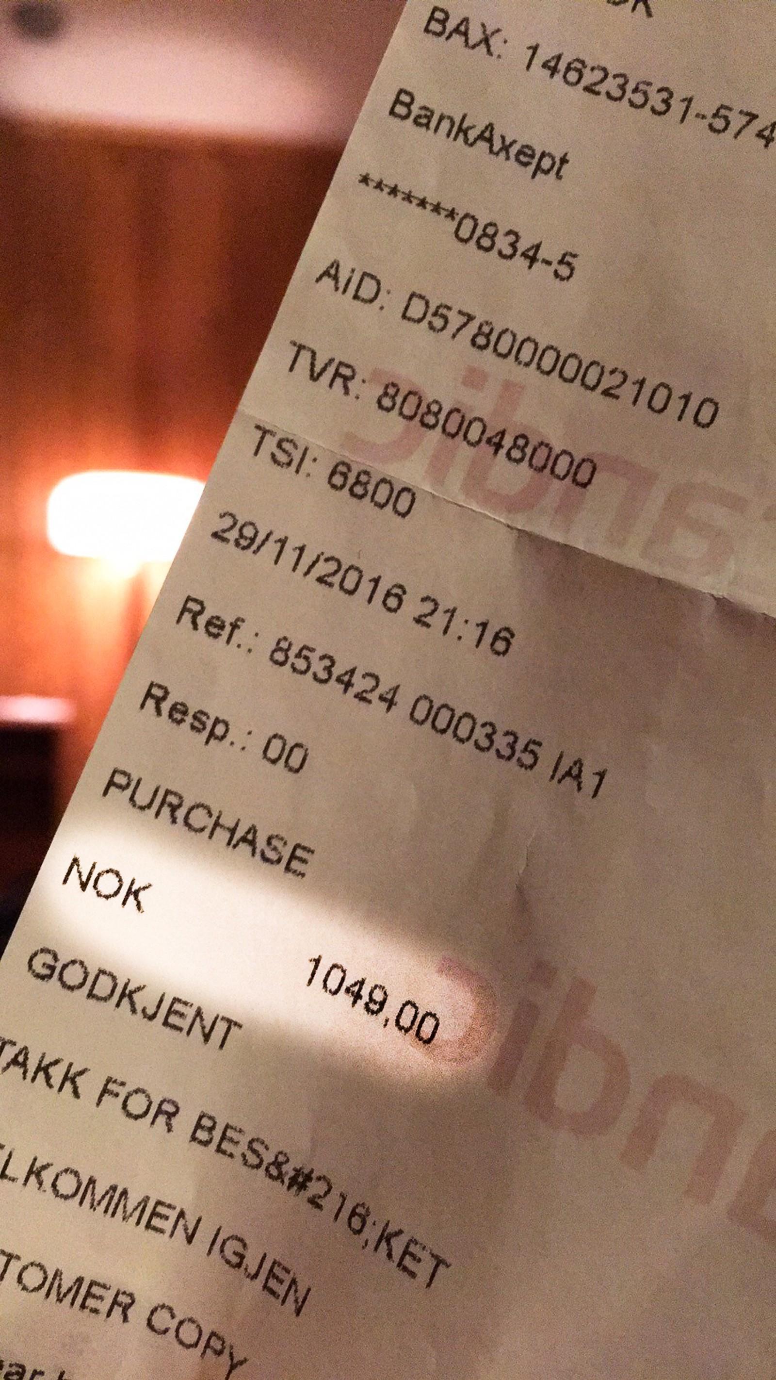 Priser som denne på 1049 kroner tilsier ikke at det var dusj og do på gangen, mener kundene hos Scandic.