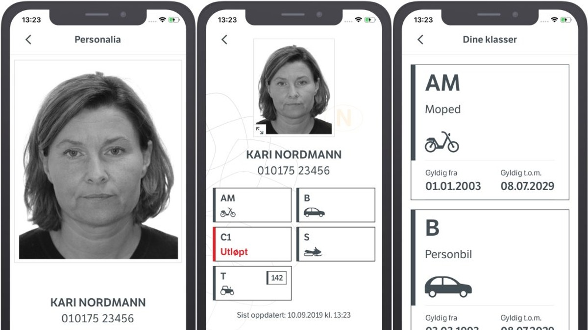 førerkort automat 2019