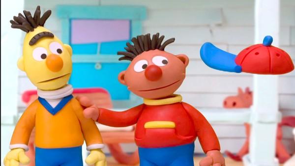 Bernt og Erling drar jorda rundt på oppdagelsesreise i fortid og framtid. Amerikansk animasjonsserie.