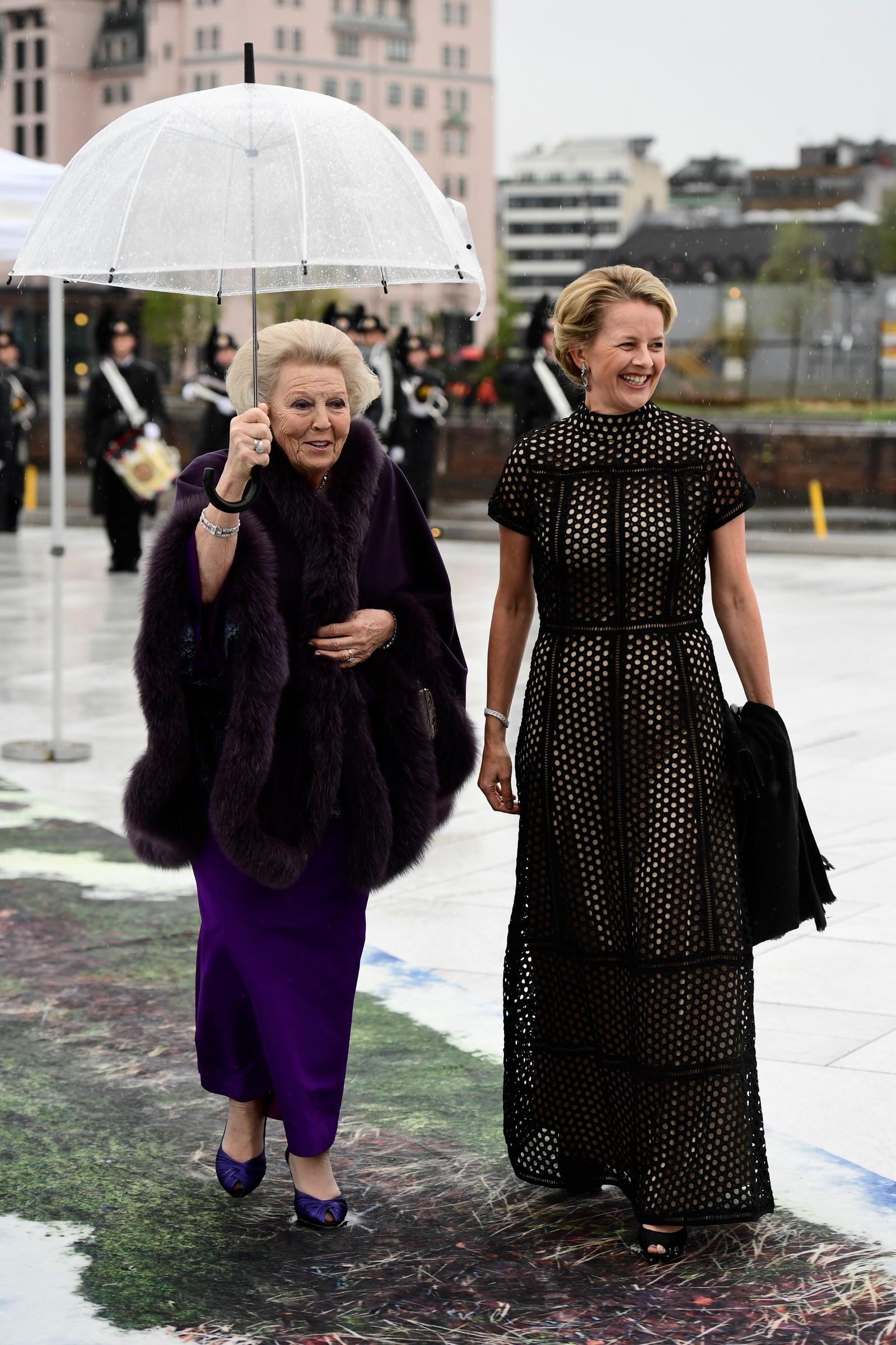 Prinsesse Beatrix av Nederland og Prinsesse Mabel av Oranien-Nassau.