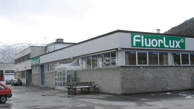 Fluor-Lux AS på Tonningleirane. Foto: Ottar Starheim, NRK.