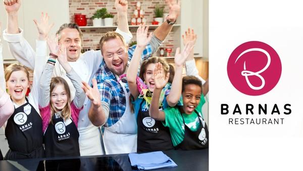 Seks barn går i lære hos en verdenskjent kokk. Klarer de å lage en tre-retters middag til 30 kjendiser?