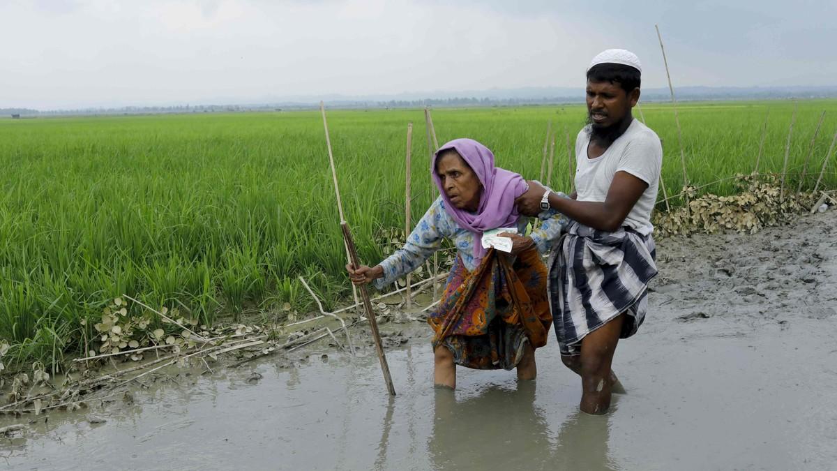 Konflikten som sverter Myanmars fredsprisvinner Aung San Suu Kyi