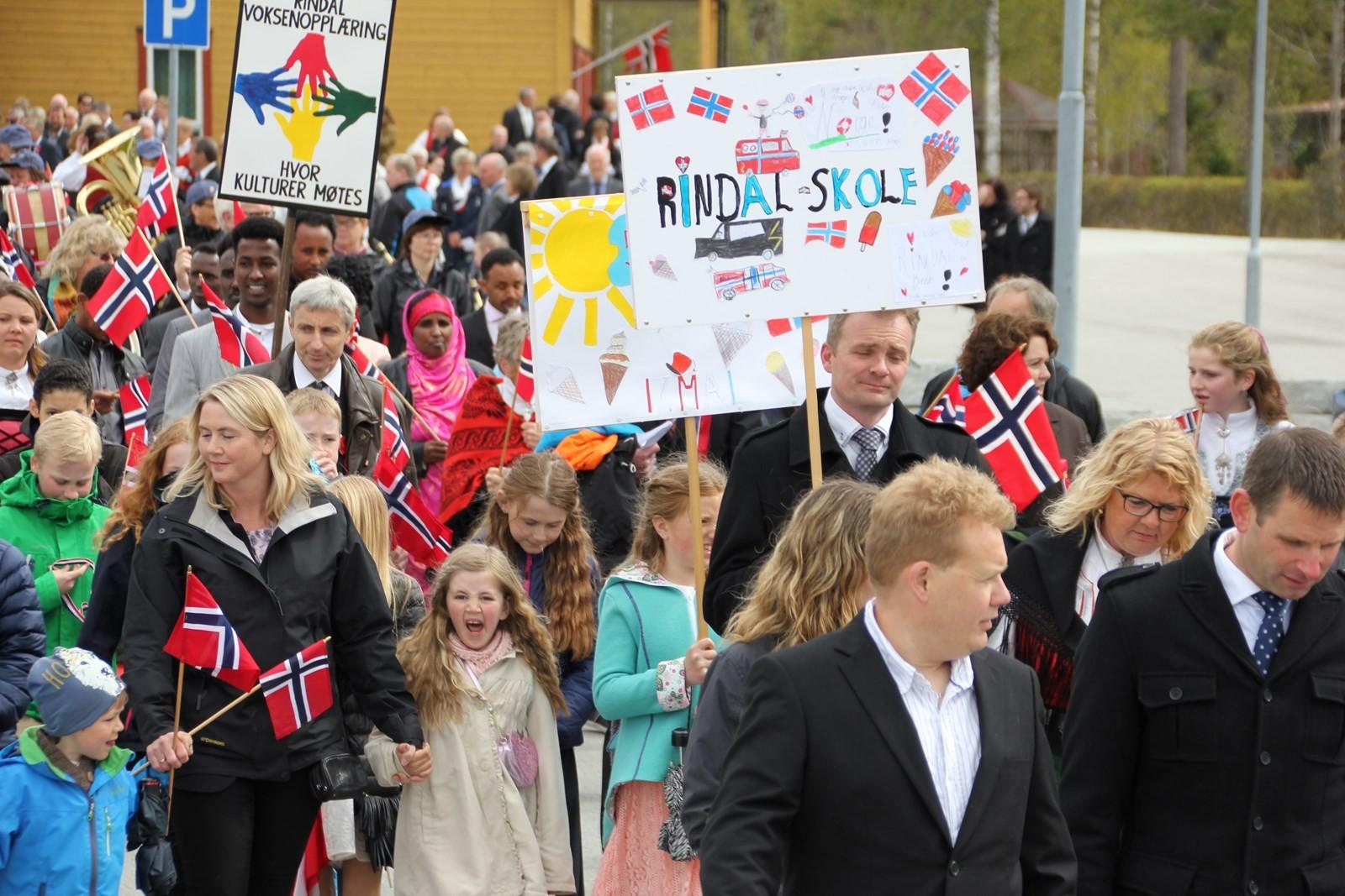 Folketoget i Rindal