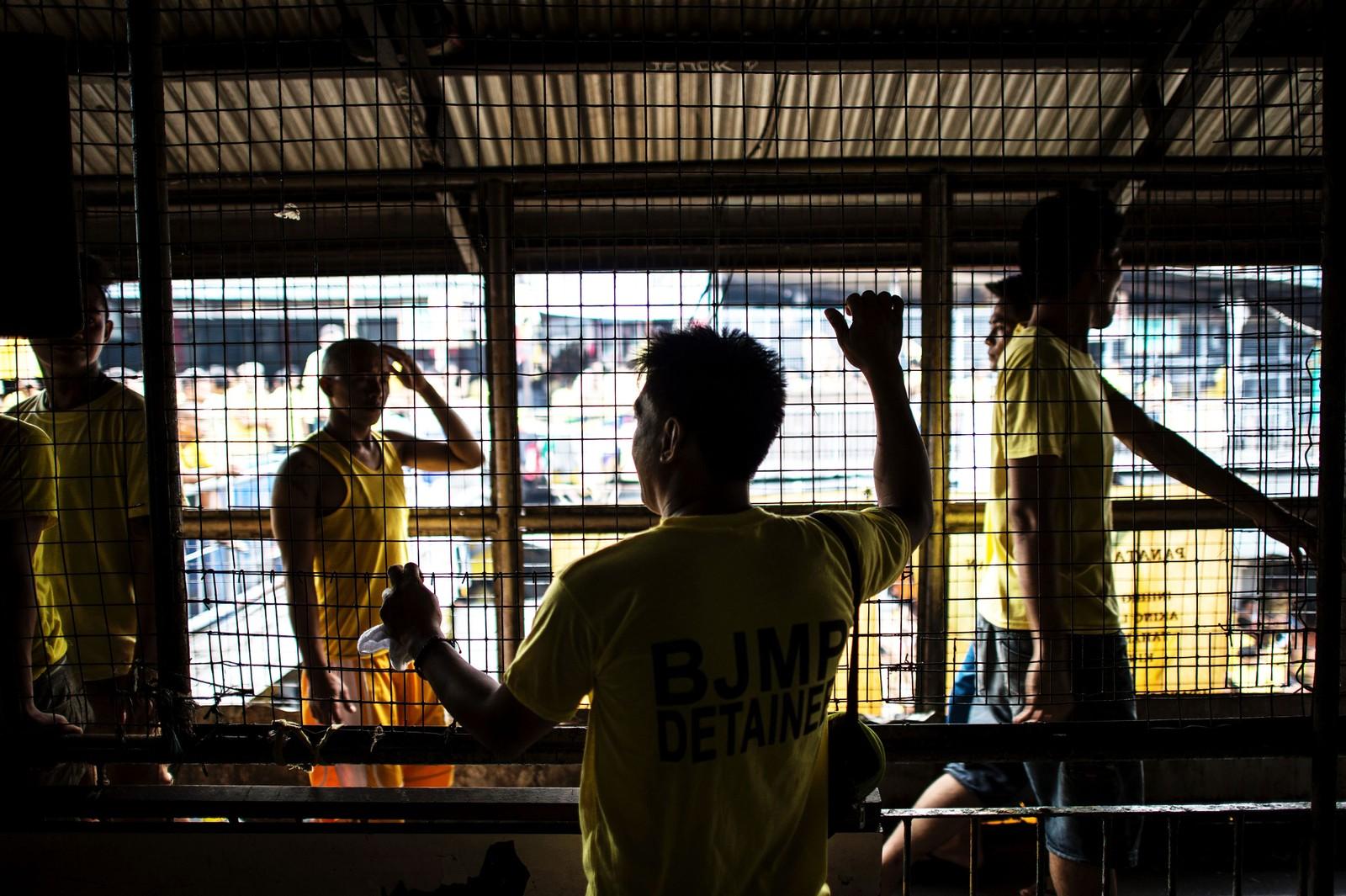 Mario Dimaculangan har sittet i Quezon City-fengselet i 15 år.