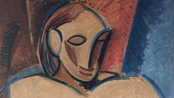Picasso: Naken kvinne med serviett (1907). (Pablo Picasso/BONO/2012).
