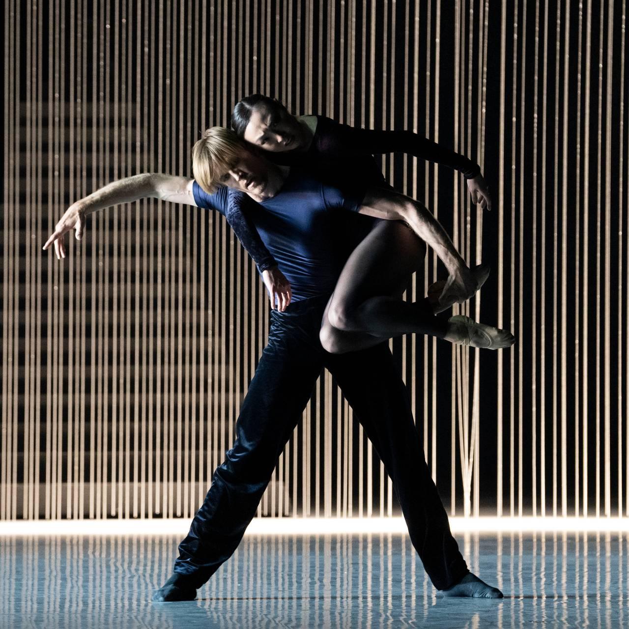 Silas Henriksen og Nae Nishimura i balletten