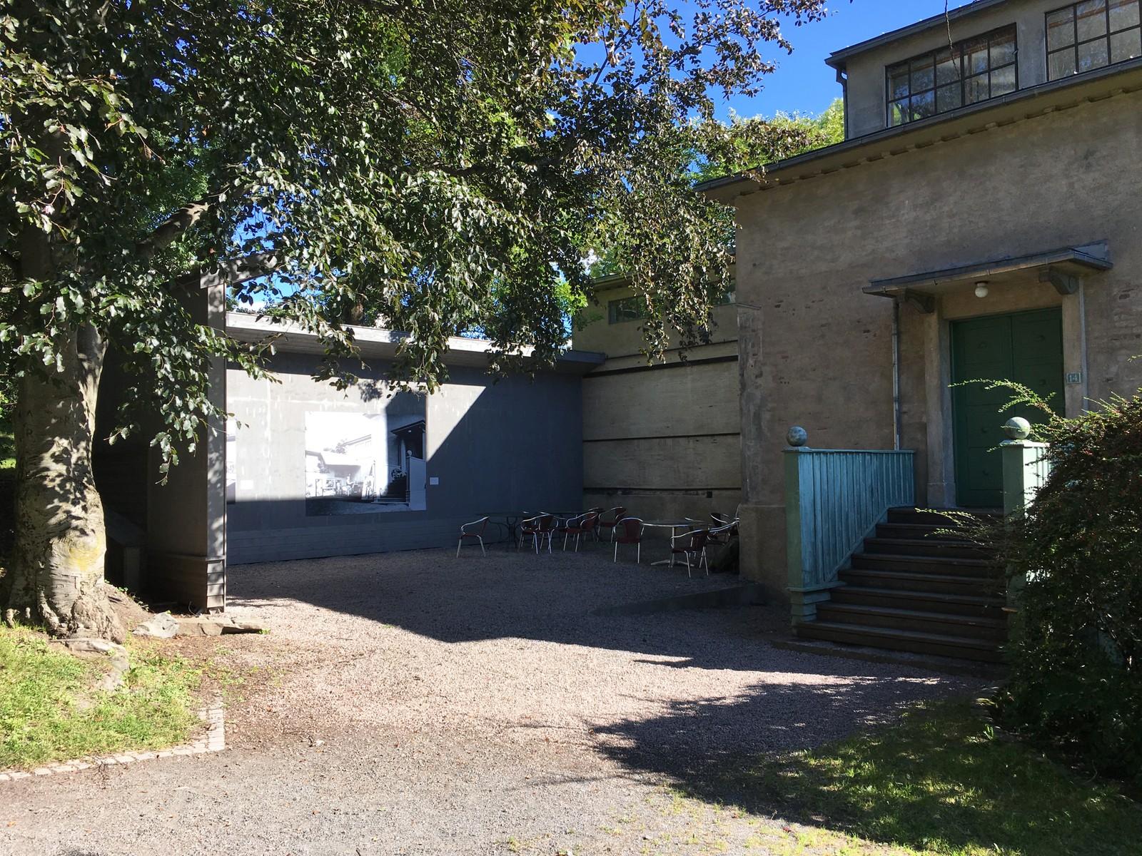 Atelieret til Munch står fortsatt på Ekely.