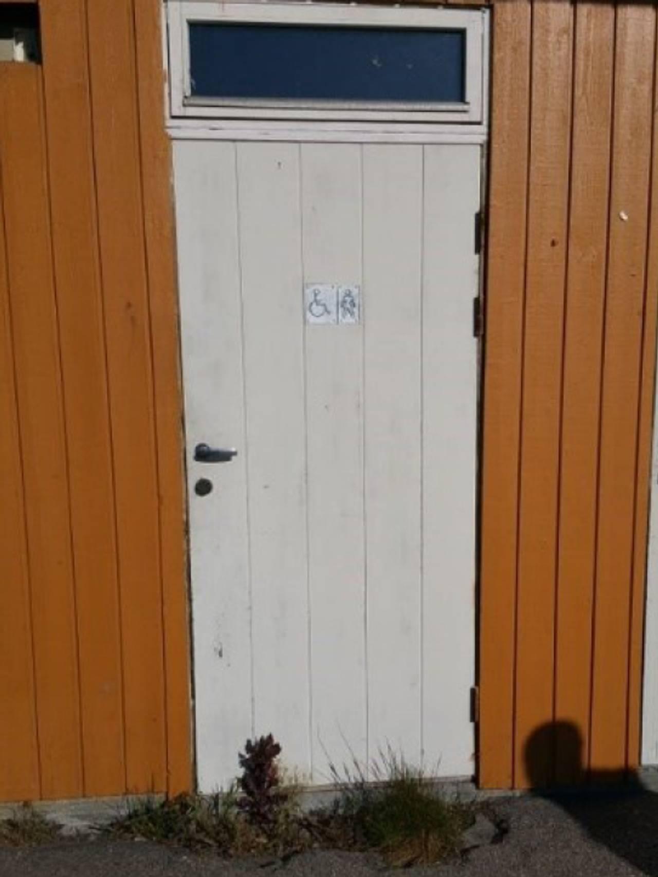 HC-toalett Kristiansand stadion