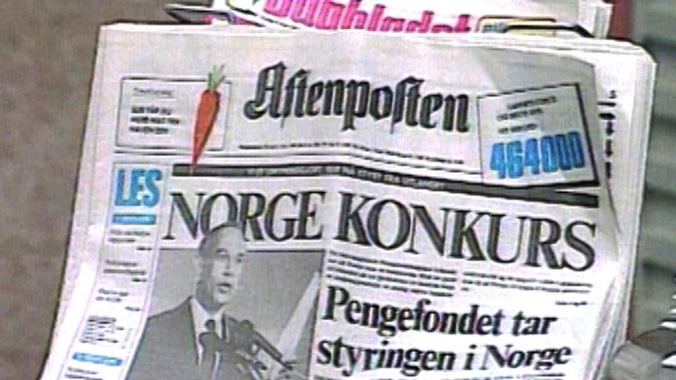 Blått lys for Norge