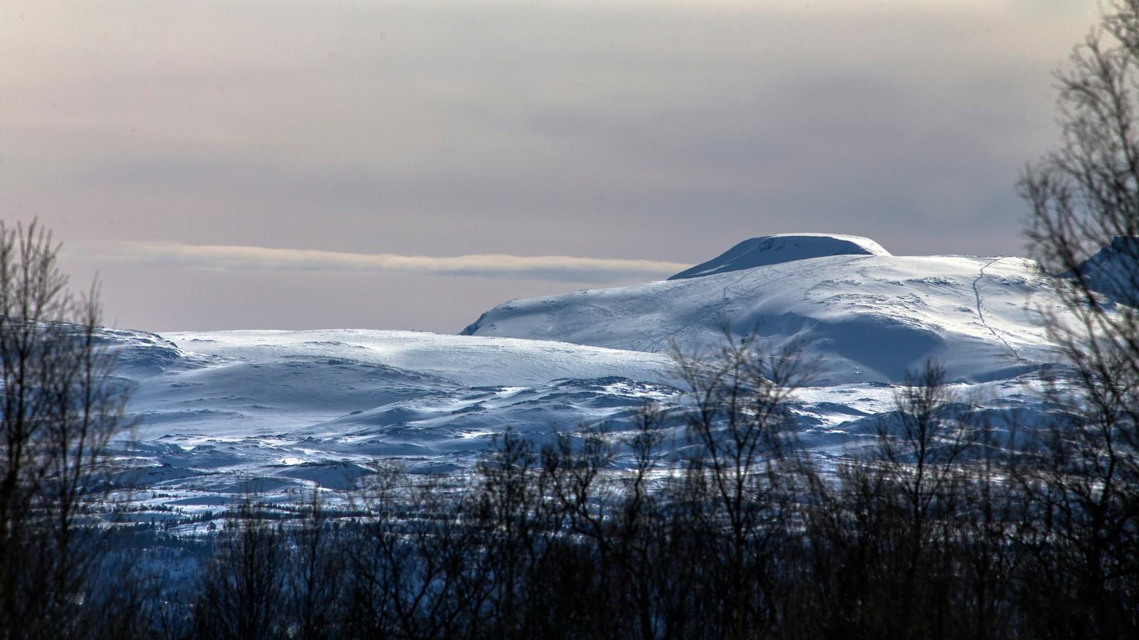 Trollheimen, sett fra Ryånda i Meldal
