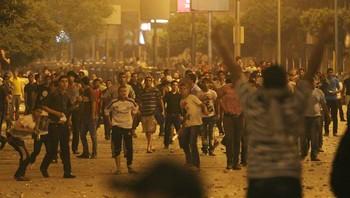 Sammenstøt i Kairo.
