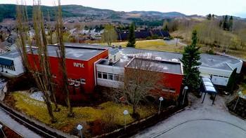 NRK Trøndelag lokalkontor på Lø i Steinkjer