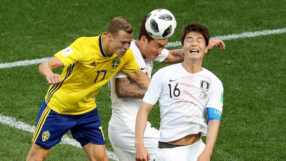 Fotball - VM: Høydepunkter Sverige - Sør-Korea, Belgia - Panama og Tunisia - England