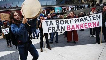 Demonstrasjon i Stockholm