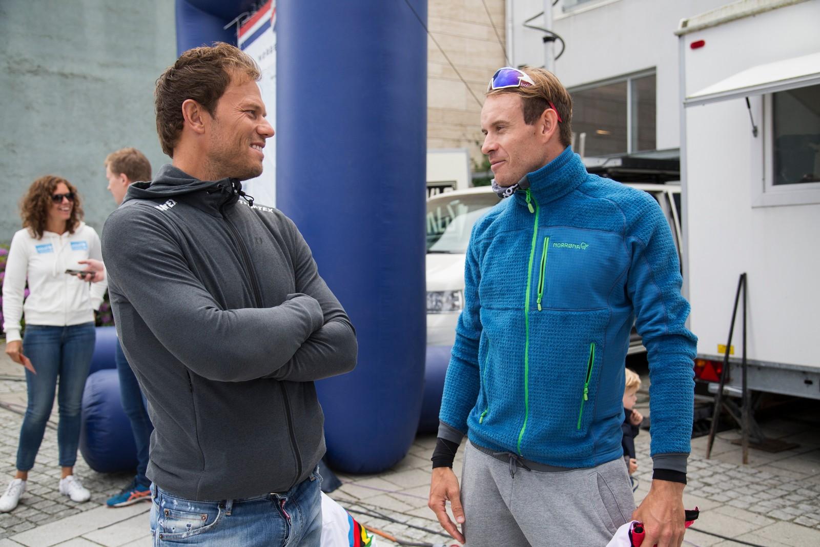 Thor Hushovd og Alexander Kristoff.
