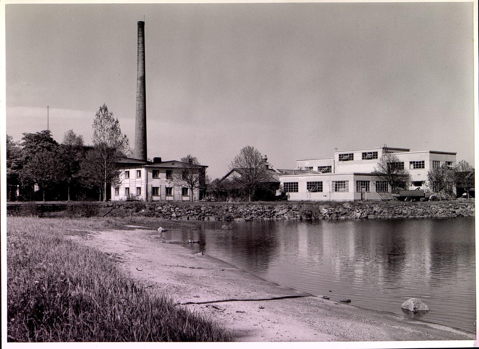 Fabrikken i 1939