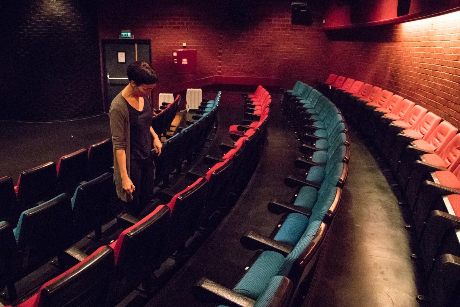 Setene i Cinemateket er 35 år gamle originalseter fra 1981.