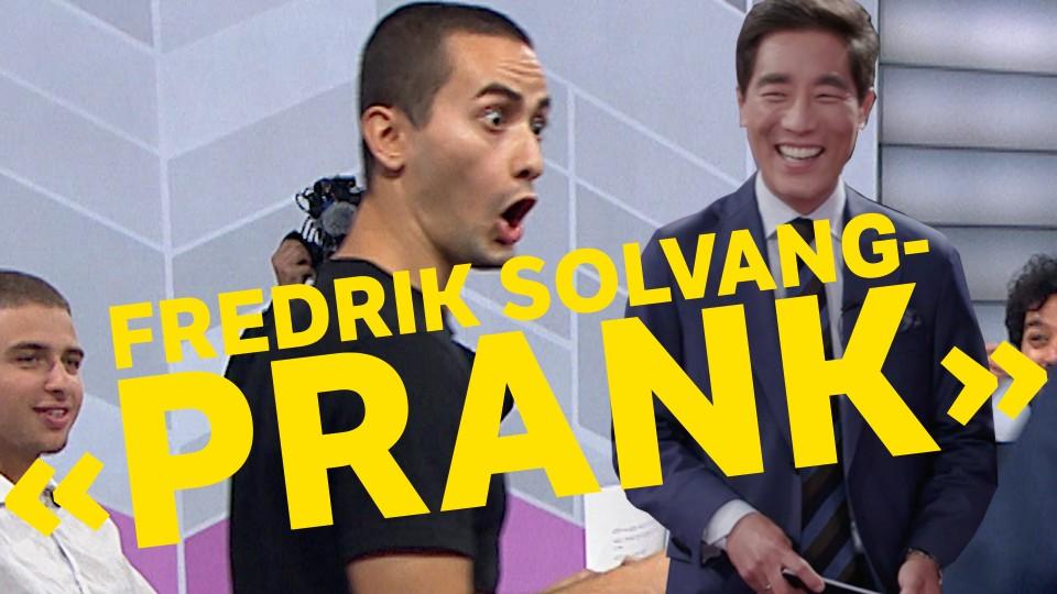 Fredrik Solvang Pranker Andregenerasjonen Nrk