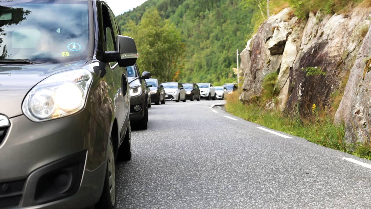 Trafikk på riksvei 13