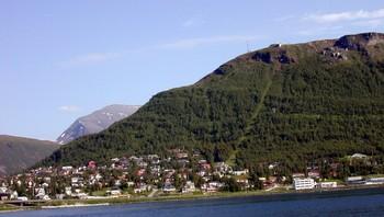 Fløyfjellet i Tromsø