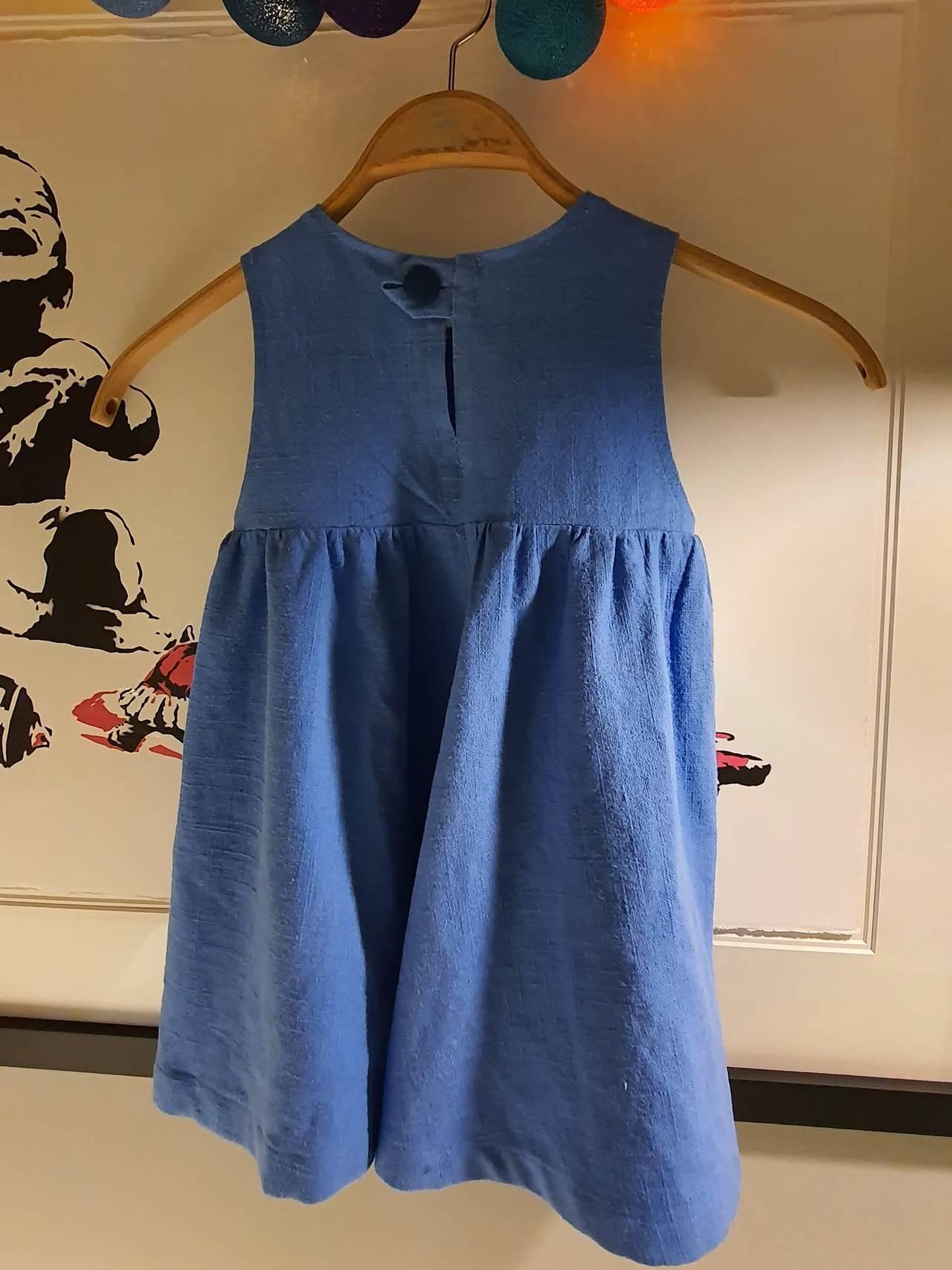 Anne Ma Sæle har sydd denne flotte kjolen