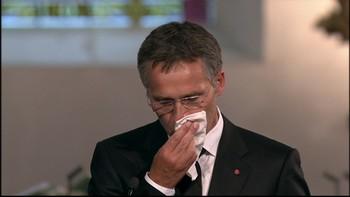 Video Stoltenberg holdt tale til minne Utøya-ofrene