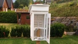 PRIVATE MÅLINGER: Har du en værstasjon fra Netatmo i hagen din, kan data fra den være med på å legge grunnlaget for grundigere temperaturvarsler fra Meteorologisk institutt