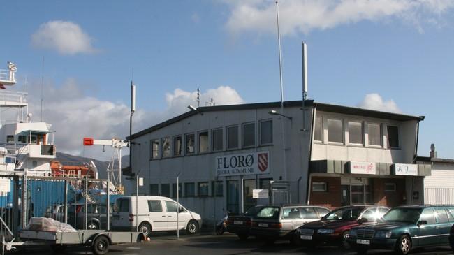 Florø var tollstad frå 1862 til 2004. Foto: Kjell Arvid Stølen, NRK.