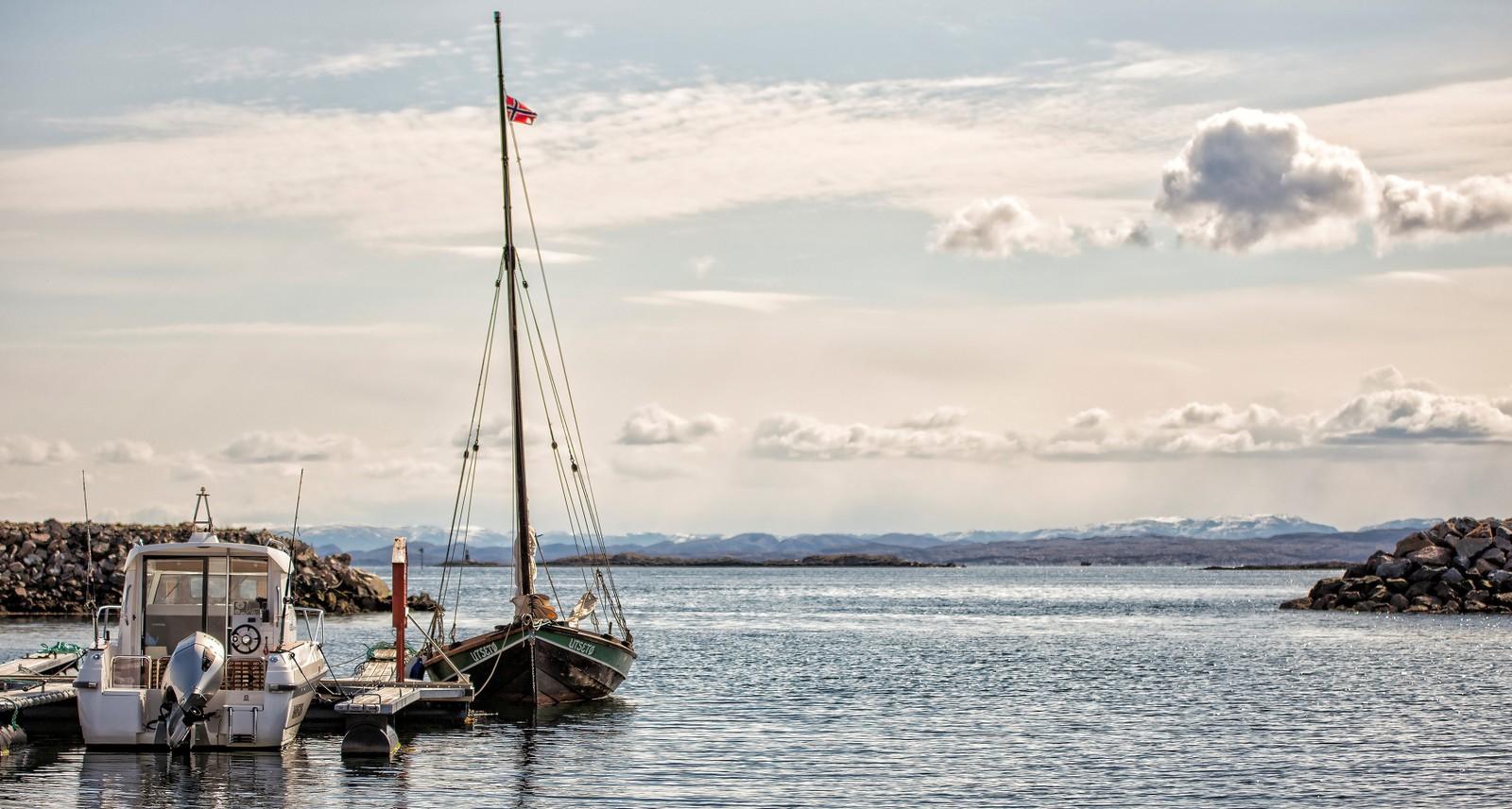 Listerbåten Utsetø i Hammarvika, Frøya