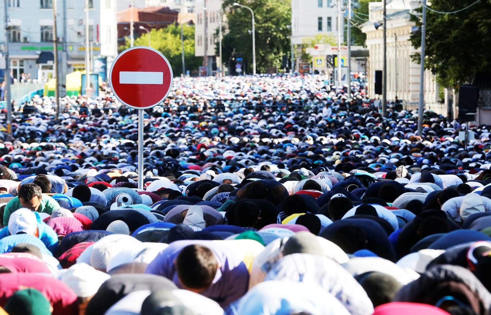 MOSKVA: Russiske muslimer markerer at fasten avsluttes i dag 5. juli og feiringen av Eid al-Fitr kan begynne.