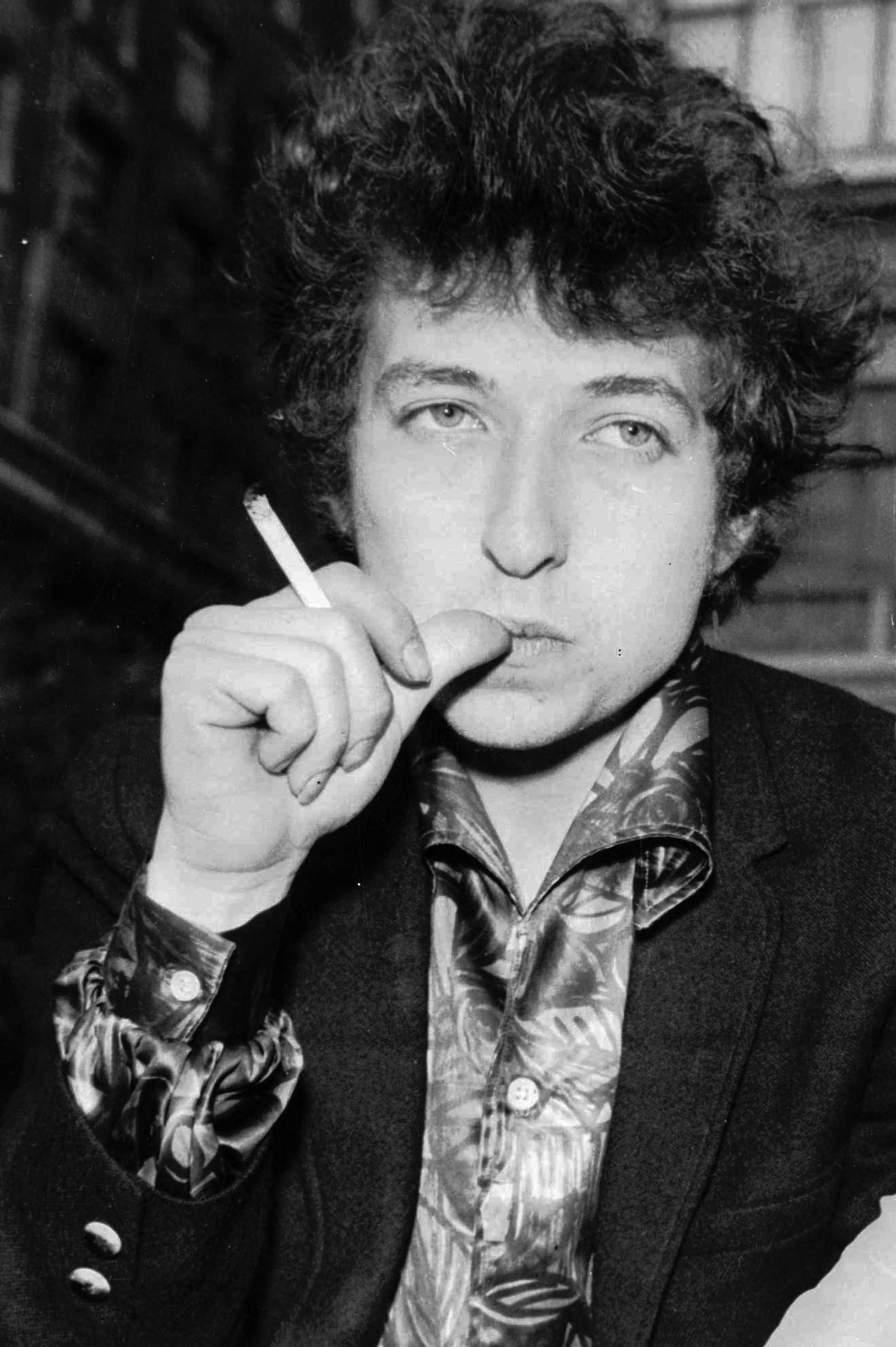Bob Dylan i 1965, som 24-åring.