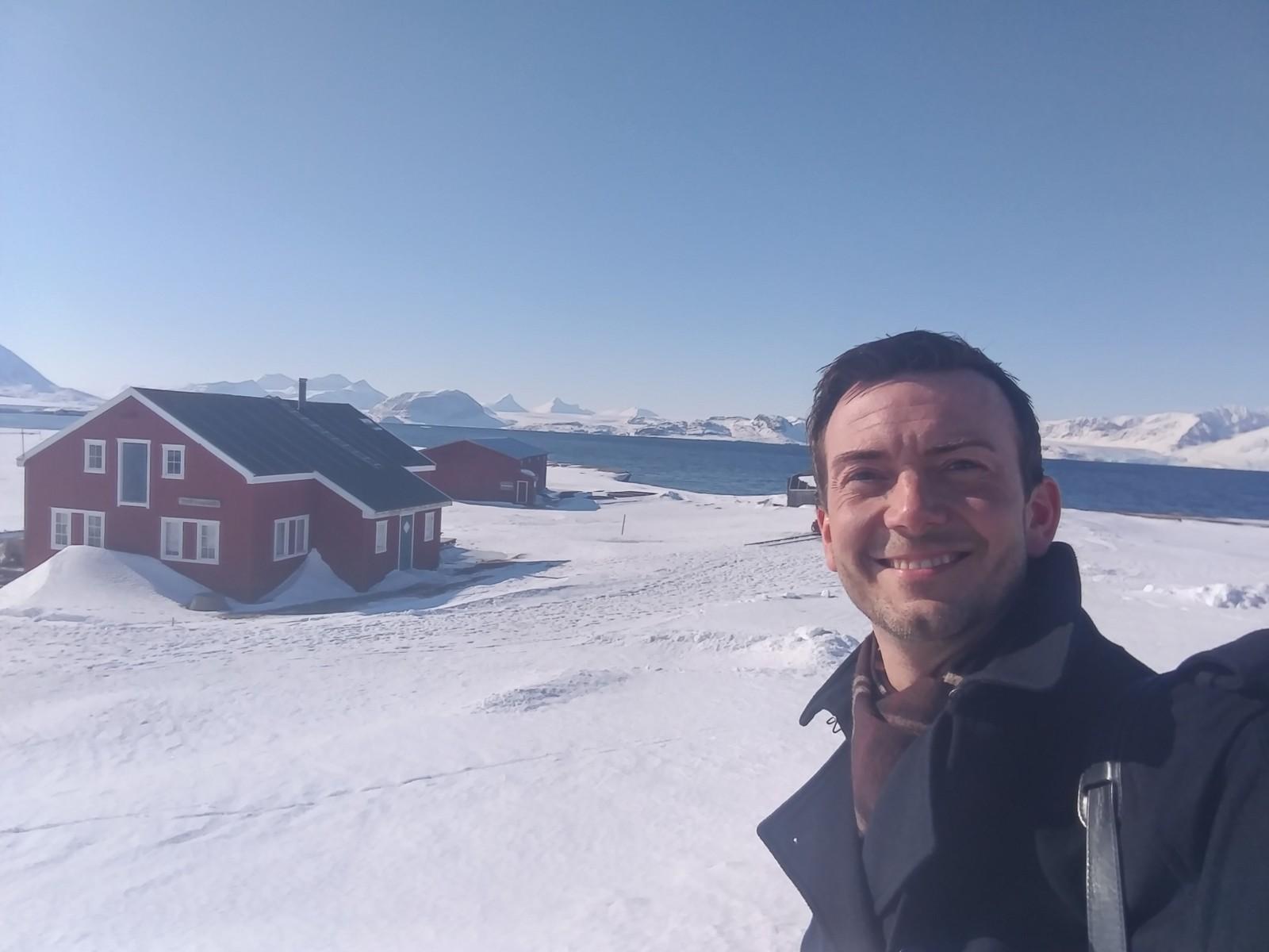 Kent i Ny-Ålesund i mai.