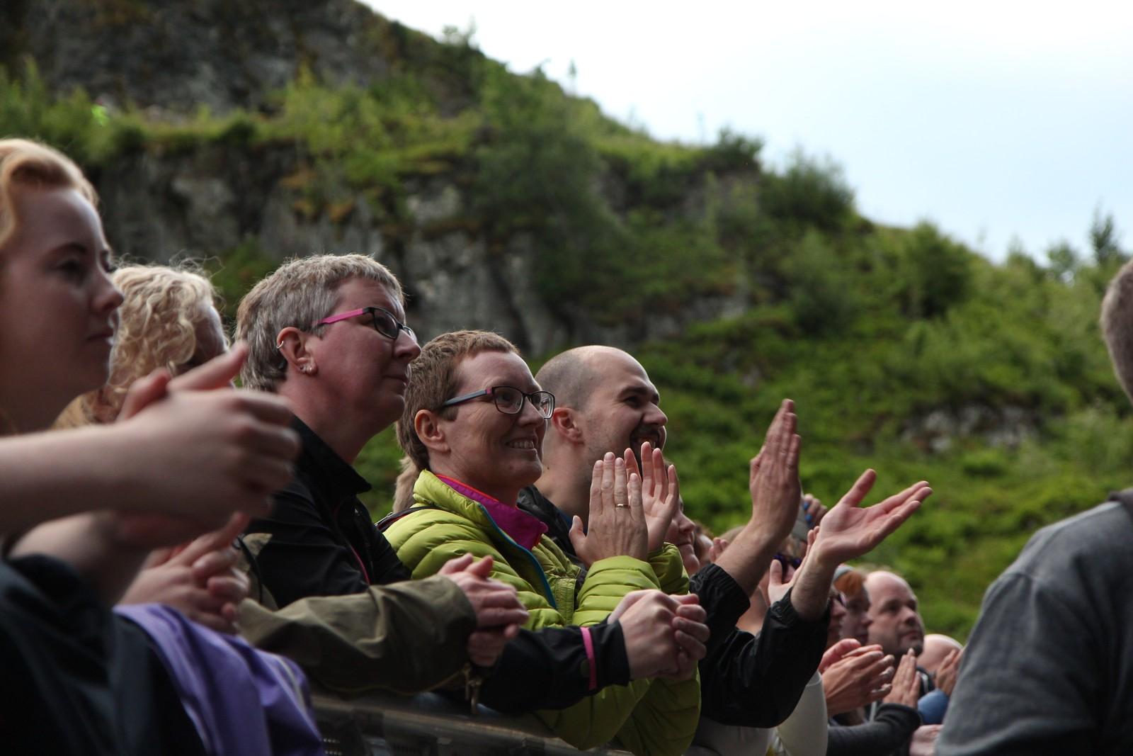 Publikum på Elton John-konsert
